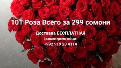 «101 Роза» — служба доставки цветов