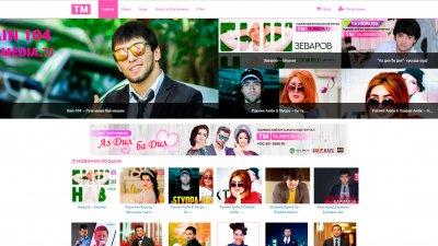 «TajMedia» — музыкальный портал